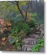 Pathway To Serenity Metal Print