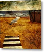 Pathway To The Sea II Metal Print