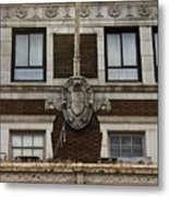 Patrick Henry Hotel Roanoke Virginia Metal Print