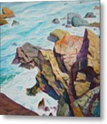 Patricks Point Metal Print