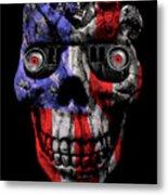 Patriotic Jeeper Cyborg No. 1 Metal Print