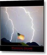 Patriotic Storm - Poster Print Metal Print