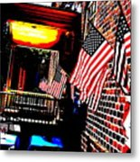 Patriotic Tavern Metal Print