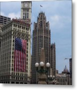 Patriotic View Metal Print