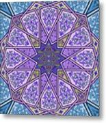 Pattern Art 006 Metal Print