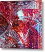 Pattern Art 015 Metal Print
