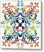 Pattern Art - Color Fusion Design 7 By Sharon Cummings Metal Print