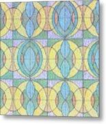Pattern Of Serenity Metal Print