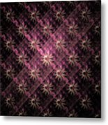 Pattern Of Stars Metal Print