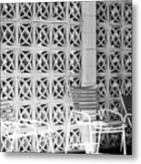 Pattern Recognition Palm Springs Metal Print