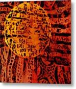 Patterns In The Sun Metal Print