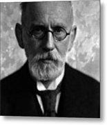 Paul Ehrlich, German Immunologist Metal Print by Science Source