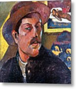 Paul Gaugin (1848-1903) Metal Print