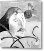 Paul Gauguin Metal Print