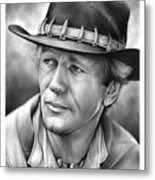 Paul Hogan Metal Print