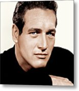Paul Newman, Ca. 1963 Metal Print