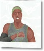 Paul Pierce  Metal Print