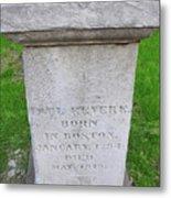 Paul Revere Grave  Metal Print