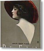 Pauline Frederick In Paid In Full 1919 Metal Print