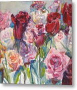 Paul's Roses II Metal Print