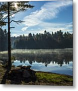 Pauper Lake Morning Metal Print