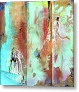 Pause In The Reconstruction Of Doubt  Metal Print