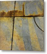 Paved With Gold Metal Print