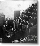 Pavlov In Lecture Theater, 1904 Metal Print