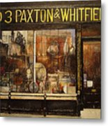 Paxton Whitfield .london Metal Print