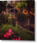 Peace Before The Storm - Roses Metal Print