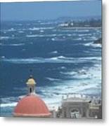 Peace By The Sea Metal Print