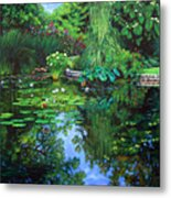 Peace Floods My Soul Metal Print