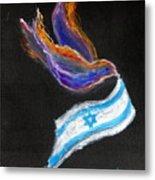 Breakthrough Peace For Israel Metal Print