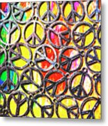 Peace In All Colours Metal Print