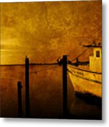 Peace In The Harbor Metal Print
