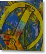 Peace In The Nature Metal Print