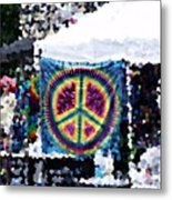 Peace In The Streets Metal Print