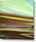 Peace Is Colorful Metal Print