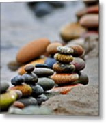 Peace On The Shore Metal Print