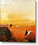 Peace Underneath 4 Metal Print
