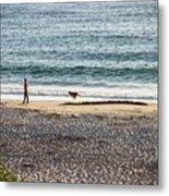Peaceful Beaches Metal Print