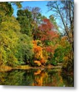 Peaceful Calm - Allaire State Park Metal Print