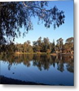 Peaceful Day At The Park Metal Print