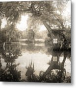 Peaceful Evening Metal Print