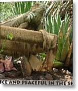 Peaceful Metal Print