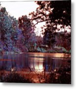 Peaceful In Infrared No1 Metal Print
