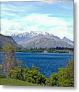 Peaceful Lake -- New Zealand Metal Print