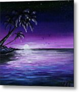 Peaceful Night Metal Print