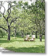 Peaceful Place To Rest Metal Print