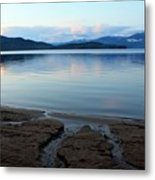 Peaceful Priest Lake Metal Print